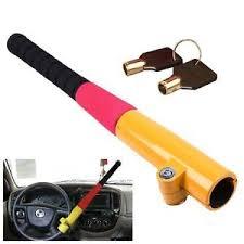 blocco volante auto anti furto sicurezza macchina anti theft mazza blocca sterzo per