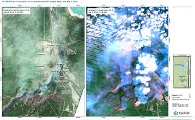 Alberta Wildfire Satellite Images by Hatfield Responds To Fort Mcmurray Wildfires Hatfield Consultants