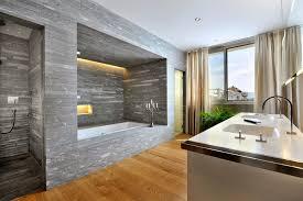 bathroom calm bathroom floors rendering interior of modern stock