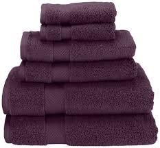 amazon com superior zero twist 100 cotton bathroom towels super