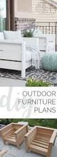 Diy Wooden Outdoor Chairs by Modern Outdoor Chair Plans Free By Ana White Com Behrthinkoutside