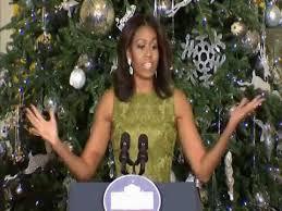 obama unveils white house decorations