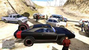 gta 5 dodge charger gta v dodge charger road fast furious 7