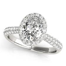 platinum pave rings images Oval cut halo pave 39 diamond engagement ring platinum 2 33ct allurez jpg
