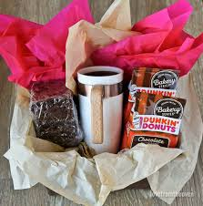 Coffee Gift Basket Coffee Brownies And Easy Gift Ideas Love From The Oven
