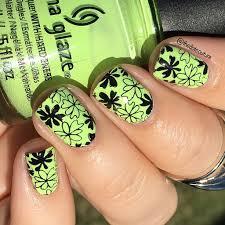 floral nail art spring summer cute girls hairstyles