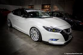 white nissan 2016 2016 nissan maxima on work xsa 05c wheels photo s album number