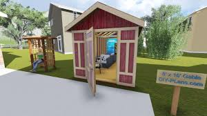 outdoor sheds plans 8x16 storage shed plan