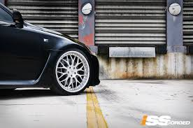 lexus isf houston lexus is f on iss forged spyder iss forged handcrafted for