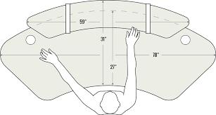 sphere standing desk by focal bluecony ergonomic standing