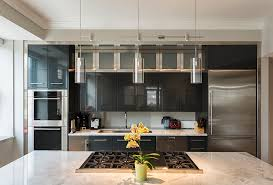 Kitchen Island Contemporary - attractive modern lighting over kitchen island contemporary