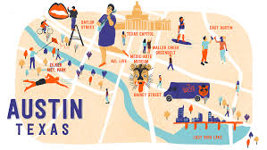 Downtown Austin Map by Austin Curbed