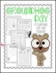 free groundhog class graph response sheet februaru