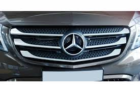mercedes grill stainless steel grill bars fits for mercedes vito viano w447