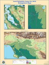 Los Angeles District Map by Energy Maps Of California Enlargement Areas Greater Bay Area