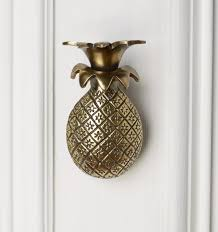 Pineapple Home Decor A Touch Of Gold We Believe In Style