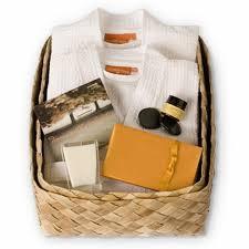 candle gift baskets zen weekend retreat gift basket