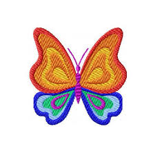 details about rainbow butterflies machine embroidery designs 4x4