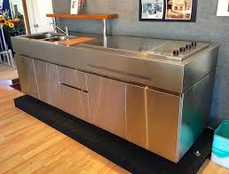 Stainless Steel Kitchen Bench Stainless Steel Benchtops Clic Bell Stainless Domestic Gallery Bbq U0027s U0026 Benches