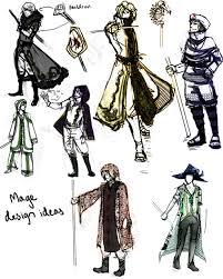 mage design sketches by iovu on deviantart