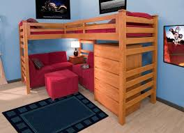 Wood Loft Bed Designs by Bunk Bed Ideas For Kids Unusual Inspiration 19 Lovely Room Decor