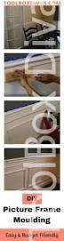 How To Make Wainscoting With Moulding How To Install Picture Frame Moulding Wainscoting Toolbox Divas