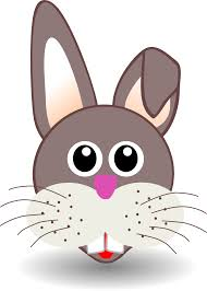 rabbit face cartoon sheet page coloring book colouringbook org svg