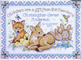 best cross stitch baby kits photos 2017 blue maize