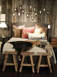 Rustic Bedroom Photos Bedroom Stools Bedrooms And Antlers - Rustic bedroom designs