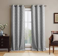 Window Curtains Amazon by Amazon Com Hlc Me Lattice Thermal Blackout Grommet Top Window
