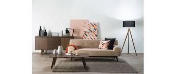 canapé miliboo canapé design 2 3 personnes gris vila miliboo