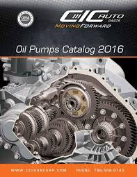 toyota lexus v8 oil pump oil pumps catalog 2016 by cic usa corp issuu