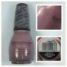 sinful colors kylie jenner trend matters mauve on karma and