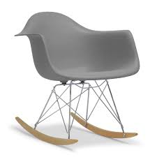 baxton studio dario grey plastic mid century modern shell chair