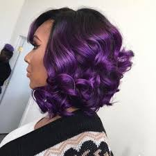 weave hairstyles with purple tips 50 swaggy bob hairstyles for black women my new hairstyles
