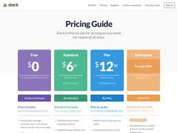 Table Ux 22 Pricing Table Inspiration From The Biggest Saas Saas Websites