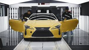 lexus lf lc black lexus lc begins production where the lfa used to be built the drive