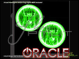 Fog Lights Oracle 15 17 Ford Mustang W Pro Led Colorshift Halo Rings Fog