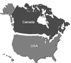 combined map of usa and canada smart home automation technology united states of america usa
