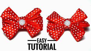 ribbons and bows how to make ribbon bows diy hair bows out of satin ribbons