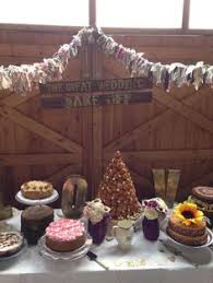 the great british wedding bake off mood board from the wedding