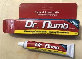 10 lidocaine 30g dr numb tattoo krim anestesi krim numbing untuk