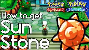 Omega Ruby How To Get Sun Stone U2013 Pokemon Omega Ruby And Alpha Sapphire