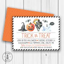 new halloween invitations are here pineapple paper co