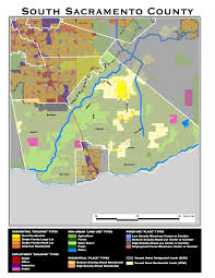 Maps Sacramento Scenario Map South Sacramento County Printable