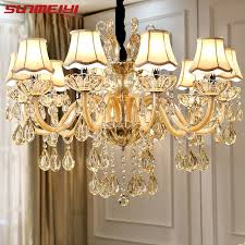 Indoor Pendant Lights Modern Luxury Crystal Chandelier Lighting For Living Room European