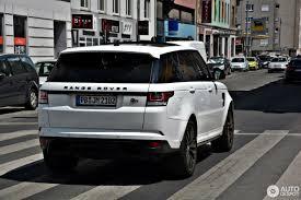 land rover sport 2017 land rover range rover sport svr 13 january 2017 autogespot