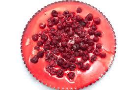 Cheesecake Decoration Fruit Raspberry Cheesecake Free Stock Image