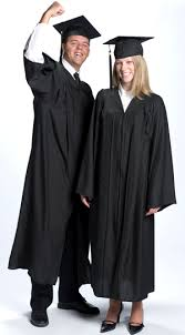 college graduation gown cap gowns college