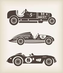vintage racing wallpaper wall mural wallsauce save your design for later